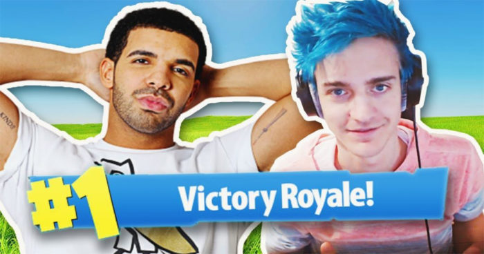 Drake a donné 5000$ à Ninja pour une victoire sur Fortnite