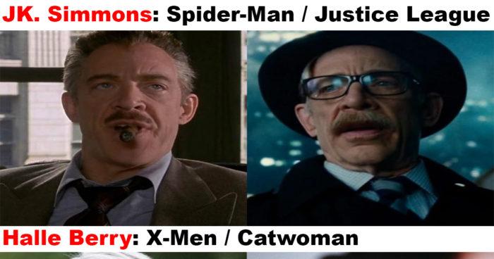 Ces acteurs qui ont incarné un personnage chez Marvel et DC