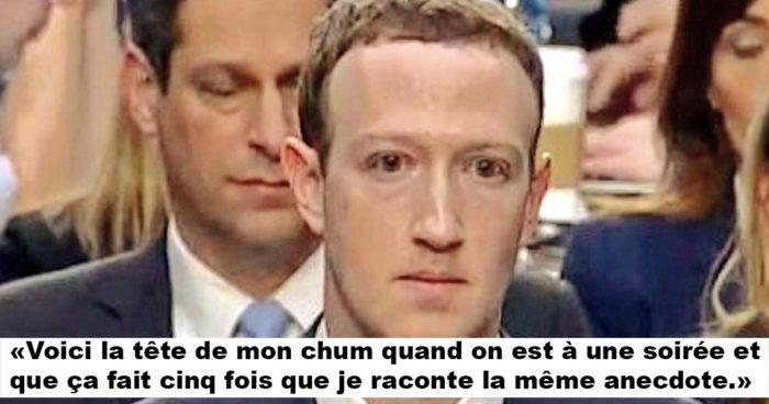 Les réactions les plus drôles de l'audition de Mark Zuckerberg devant le Sénat américain