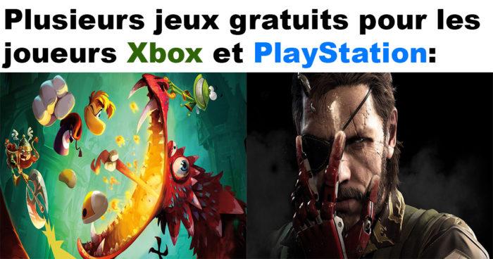 La liste des jeux gratuits de mai 2018 sur Xbox One et PlayStation