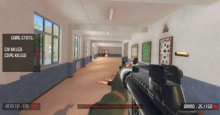 Ce jeu qui permet aux joueurs de faire une fusillade dans une école a déclenché un véritable scandale