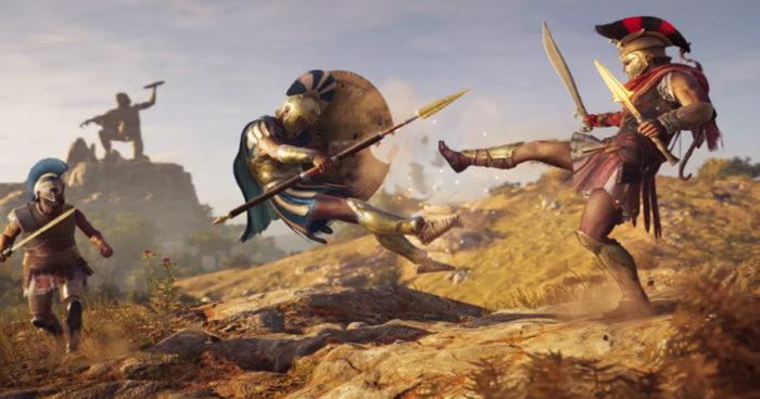 Assassin's Creed Odyssey se dévoile dans une première vidéo gameplay 100% spartiate