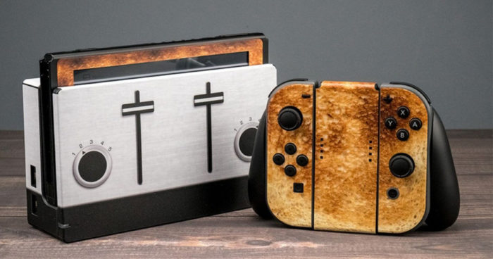 Ce skin transforme votre Nintendo Switch en toaster