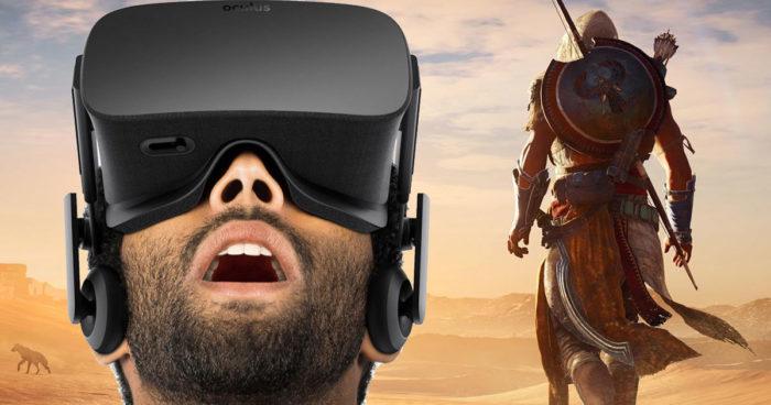 Ubisoft travaille sur un escape game en VR sur l'univers d'Assassin's Creed Origins