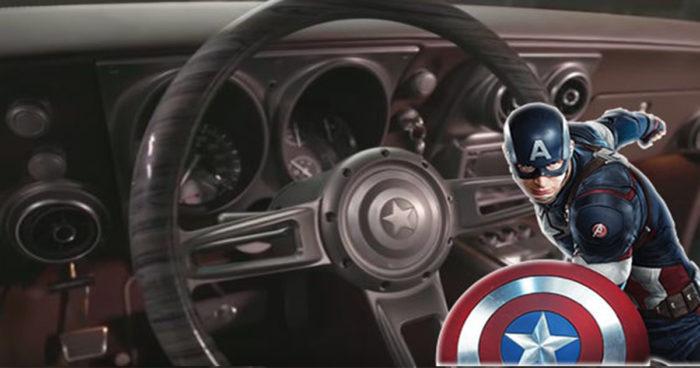 Robert Downey Jr a offert une camaro spéciale Captain America à Chris Evans
