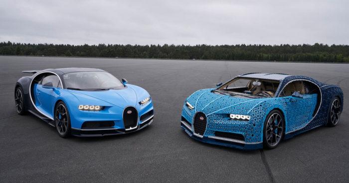LEGO a créé une Bugatti Chiron fonctionnelle grandeur nature