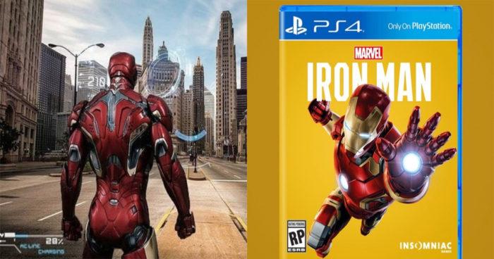 Après Spider-Man sur PS4, des fans imaginent un jeu avec Iron Man