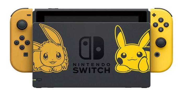 Nintendo vient d'annoncer une Switch spécial Pikachu et Eevee