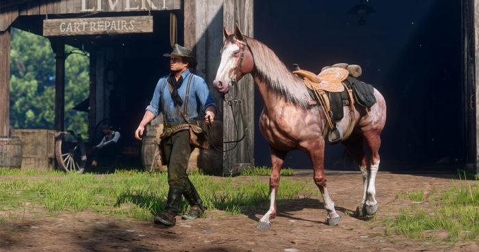 Red Dead Redemption II: Un réalisme plus poussé que jamais avec votre monture