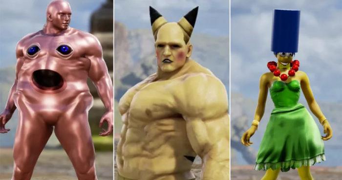 Quand les gamers s'amusent avec la personnalisation des personnages de Soulcalibur 6