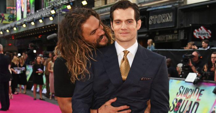 Selon Jason Momoa, Henry Cavill n'en a pas fini avec son rôle de Superman