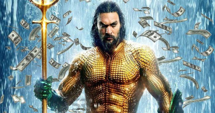 Aquaman a généré moins d'argent que tous les autres films de DC