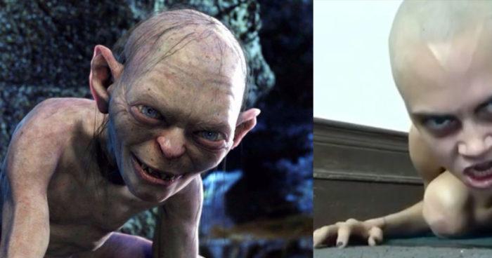 Cara Delevingne nue et tête rasée se prend pour Gollum (VIDÉO)