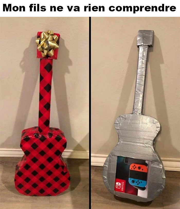Petite idée d'emballage cadeau
