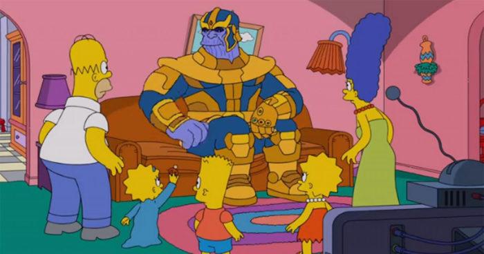 Les Simpsons ont été victimes du claquement de doigts de Thanos dans le dernier épisode