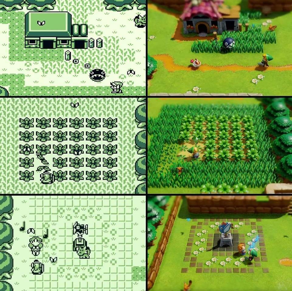 Le Remake De Zelda Link S Awakening 1993 Vs 2019 Geekqc Ca