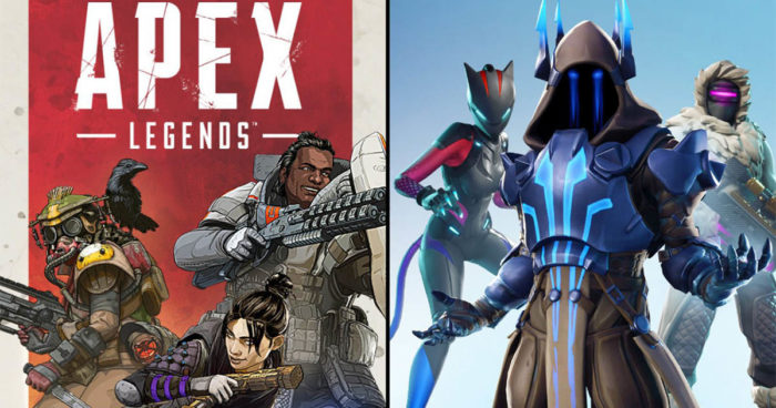 Epic Games (Fortnite) s'attaque déjà à son nouveau concurrent Apex Legends