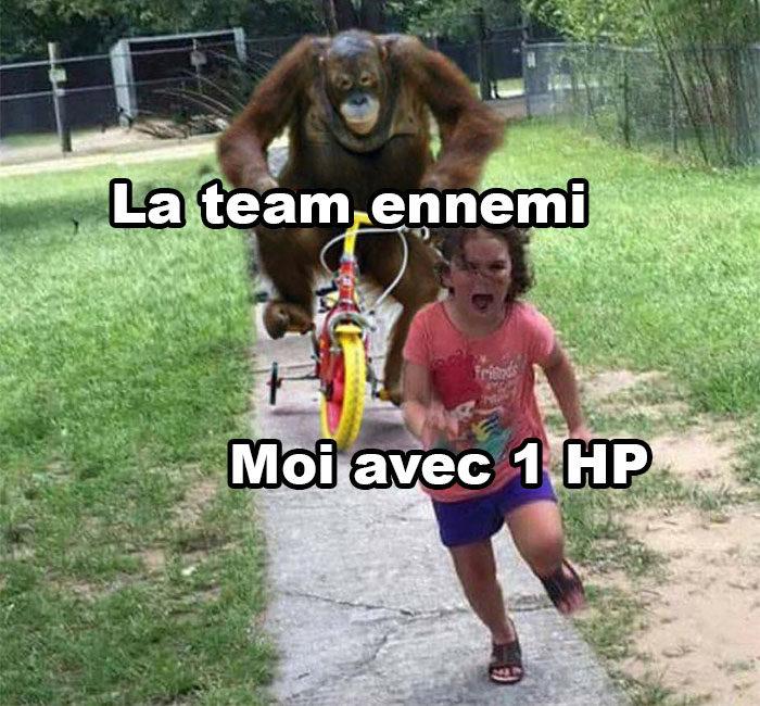 La team ennemi
