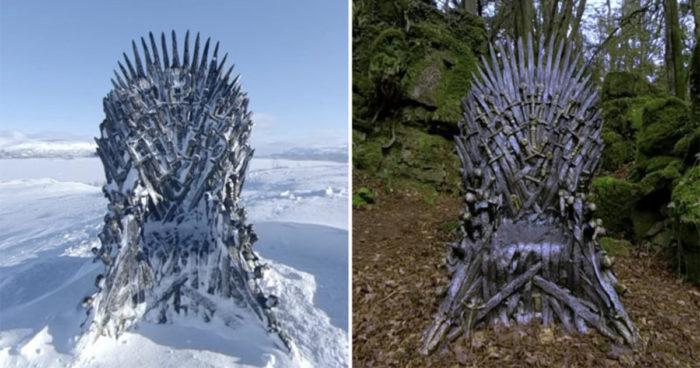 Game of Thrones: HBO a caché 6 Trônes de Fer dans le monde et vous met au défi de les retrouver
