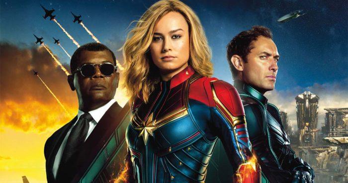 Un démarrage record pour Captain Marvel au box-office