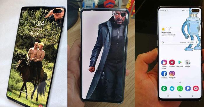 40 fonds d'écran parfait pour cacher l'appareil photo des nouveaux Samsung Galaxy S10