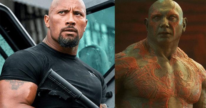 Selon la star de Marvel Dave Bautista, The Rock n'est pas un grand acteur