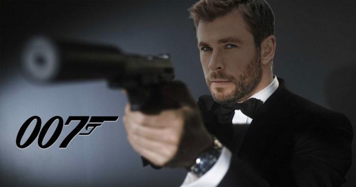Chris Hemsworth dans le rôle de James Bond pour remplacer Daniel Craig?