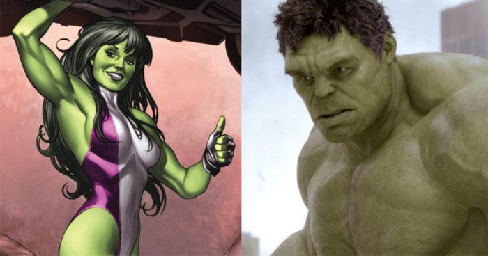 Une série consacrée à Hulk et She-Hulk serait en préparation pour Disney+