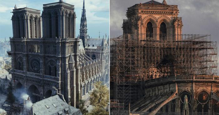 Assassin's Creed: Unity pourrait aider à la restauration de Notre Dame