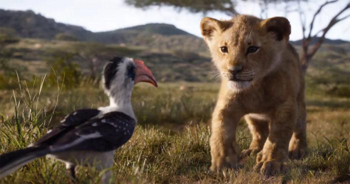 Le Roi Lion: Une nouvelle bande-annonce avec Mufasa, Simba, Nala, Zazu et Scar