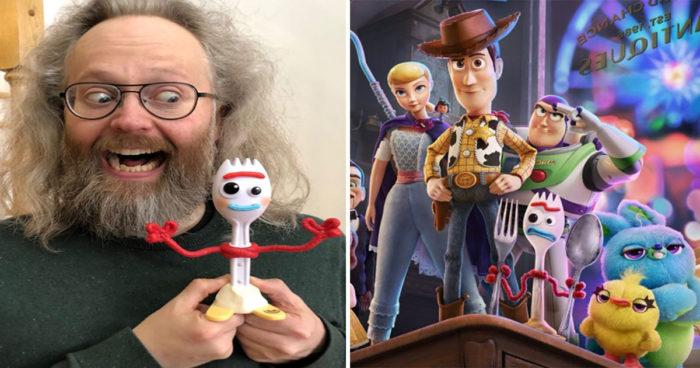 François Bellefeuille va prêter sa voix à un personnage dans Histoire de jouets 4
