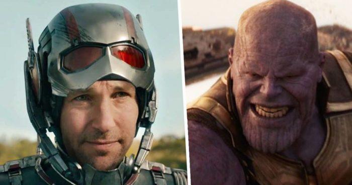 Paul Rudd confirme qu'il ne va pas entrer dans l'anus de Thanos