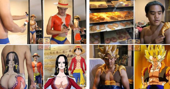 Le roi des cosplays low-cost est retour et il est toujours aussi drôle