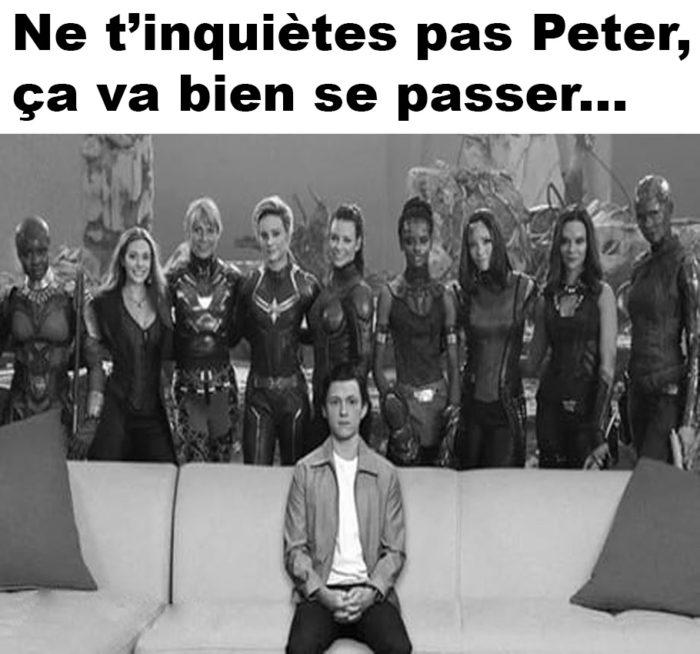 Ne t'inquiètes pas Peter