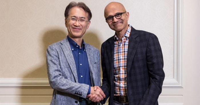 Sony et Microsoft s'associent pour travailler sur le futur de gaming