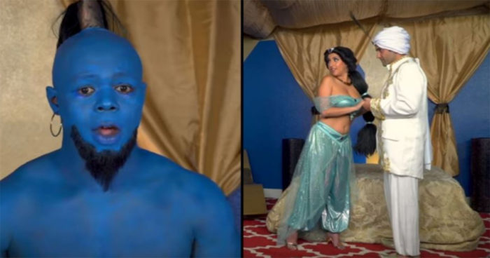 Aladdin possède maintenant sa propre parodie porno intitulée Aladdick