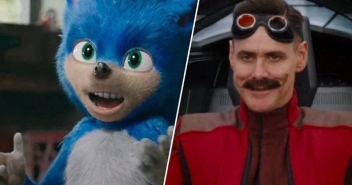 Une première bande-annonce pour le film Sonic avec Jim Carrey en Dr Robotnik