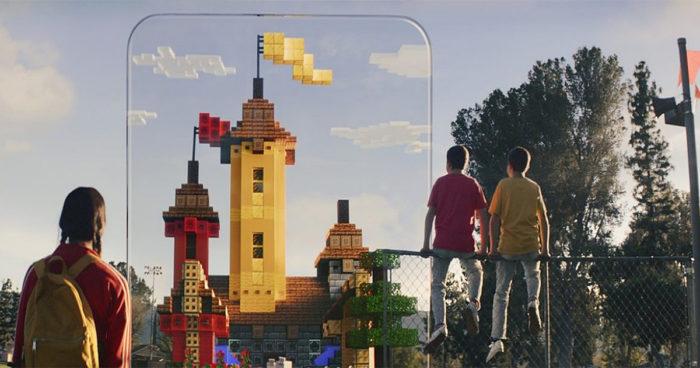 Microsft annonce Minecraft Earth, une version Minecraft de Pokémon Go