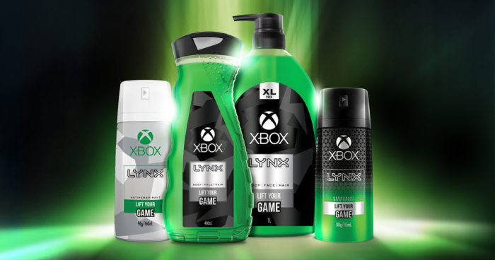 Microsoft lance un déodorant, gel douche et spray pour le corps Xbox