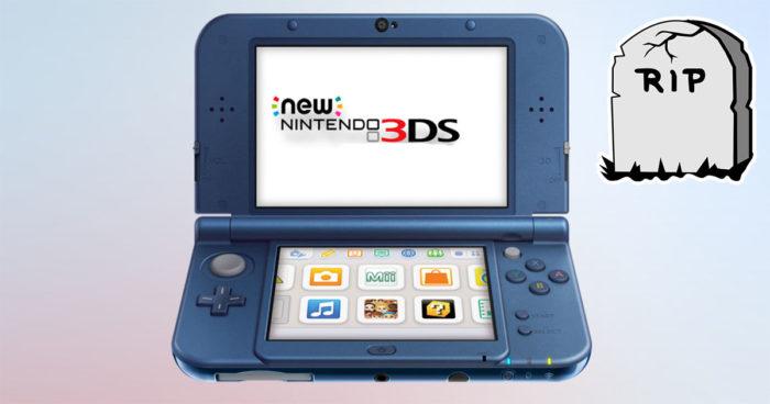 Nintendo annonce la fin de la New 3DS