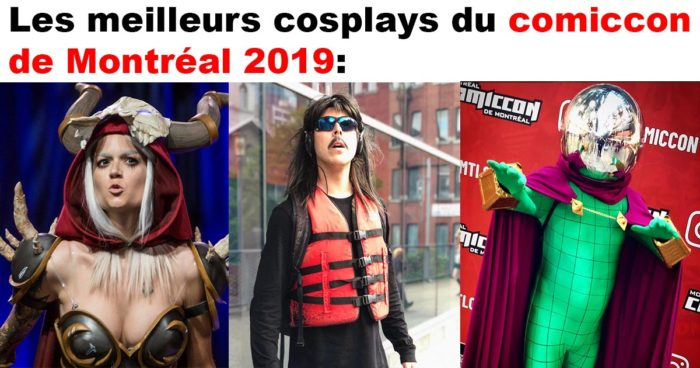 95 cosplays du Comiccon de Montréal 2019