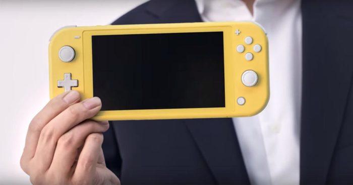 Nintendo annonce la Nintendo Switch Lite