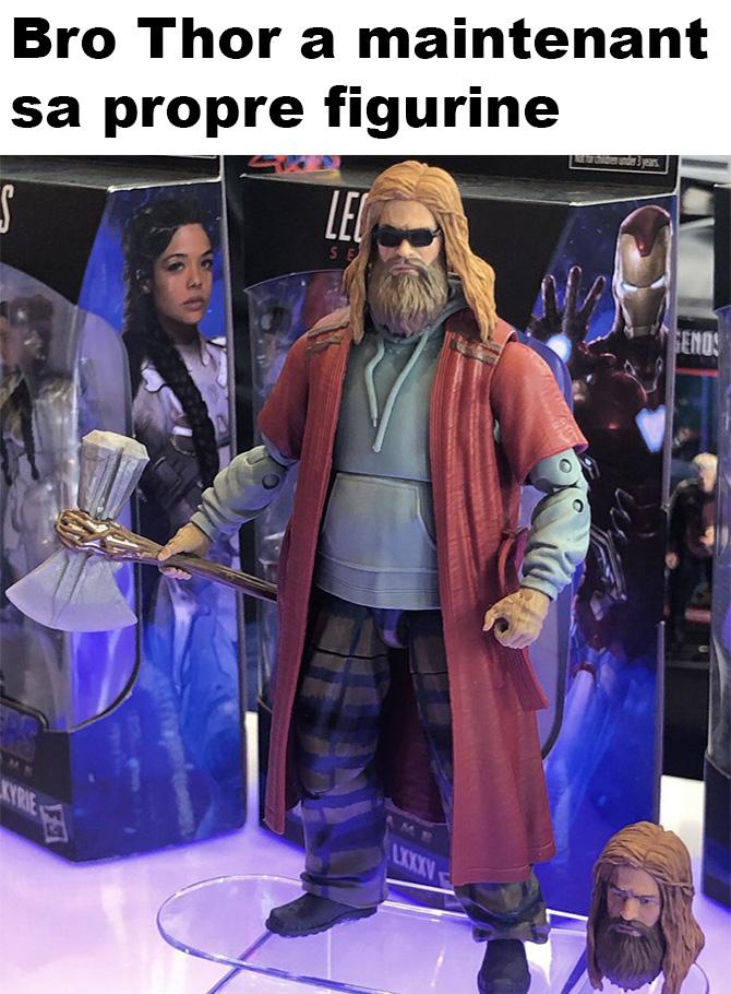 Bro Thor a maintenant sa propre figurine