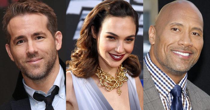 Dwayne Johnson, Ryan Reynolds et Gal Gadot vont s'unir pour le film Red Notice de Netflix