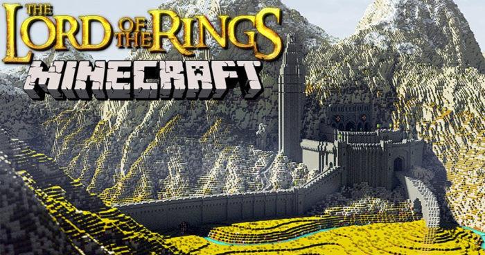 Des joueurs ont travaillé pendant 9 ans pour créer la Terre du Milieu dans Minecraft