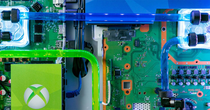 Un PC qui réunit PS4 Pro, Xbox One X et Nintendo Switch sous le même boîtier