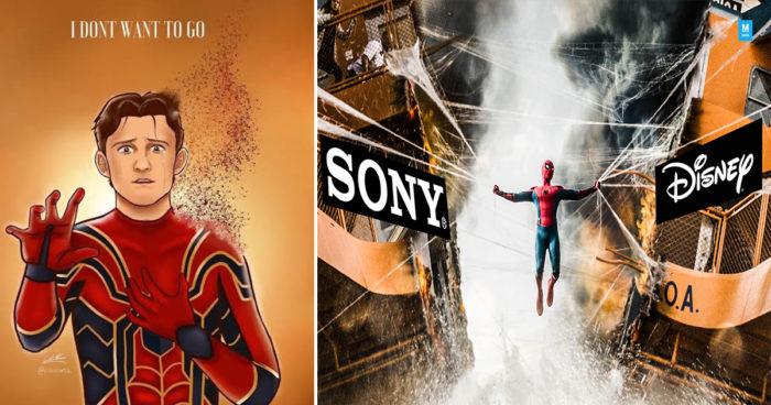 Spider-Man ne fera plus partie du MCU, les fans réagissent sur internet