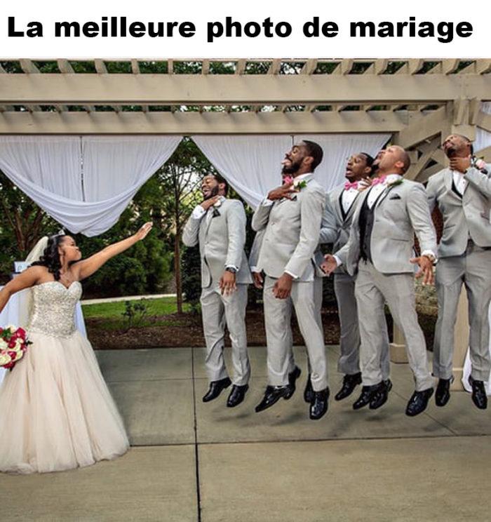 La meilleure photo de mariage
