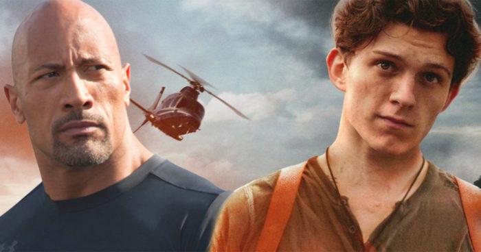 The Rock pourrait rejoindre Tom Holland pour la casting du film Uncharted