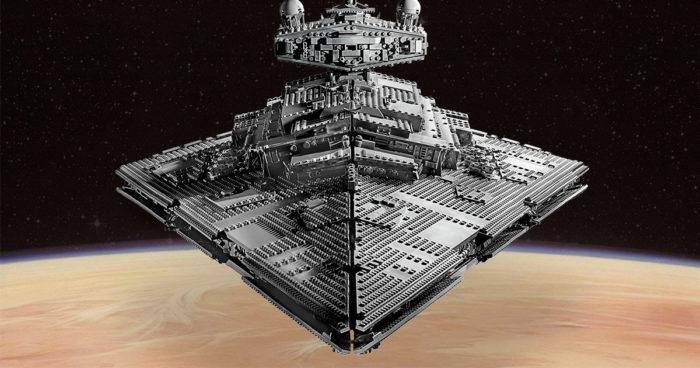 LEGO annonce l'Imperial Star Destroyer de l'empire qui fait pratiquement 5000 pièces